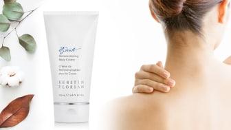 Kerstin Florians Remineralizing Body Crème är mjukgörande och rik på mineralsalter. Perfekt för en torr hösthud!