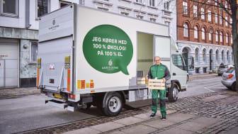 Årstiderna blir först i Danmark med eldriven lastbil.