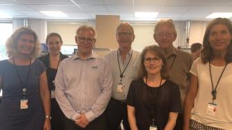 Erhvervsudvalget på besøg hos MJK i Birkerød.