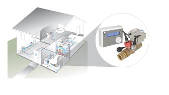 Vatette Vattenfelsbrytare installeras enkelt och kan förebygga kostsamma vattenskador