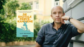 Gaute Brochmann forsøker å finne svar på hvorfor norske skolebarn får utdelt hver sin iPad – og om dét er en lur idé. (Foto: Åsmund Holien Mo)