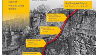 Ein Blick in die solare Zukunft: Beim LUMIT®-Errichtertag betont die Mannheimer Versicherung AG ihre hohen Ansprüche an Qualität und Nachhaltigkeit
