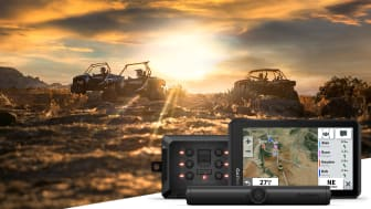 Tread är vår nya robusta navigator för terrängfordon. Och med Garmin PowerSwitch och den trådlösa kameran BC 40 kan förare av fyrhjulingar, side-by-side och snöskotrar vara uppkopplade och känna sig trygga då de ger sig ut i vildmarken.