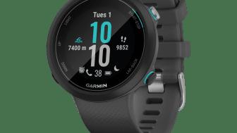 Uudessa Garmin Swim™ 2 GPS-uintiälykellossa on  rannesykeanturi, joka mittaa sykettä veden alla