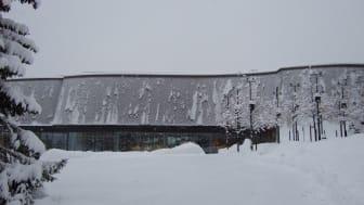 Lillehammer Kunstmuseum eksteriør vinter
