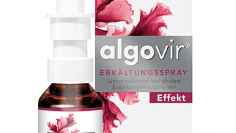 Packungsabbildung algovir Effekt Erkältungsspray