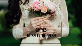 Sälj din gamla bröllopsklänning på Clarion Hotel Amaranten den 2 mars