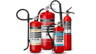 Enklare välja rätt brandsläckare när GPBM utökar sitt proffssortiment