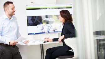 Die Motionist-Macher: Nadine Simon, Pressesprecherin bei BPW, und Social Media-Manager Till Homrighausen haben das Konzept des dialogorientierten Themenportals gemeinsam entwickelt.