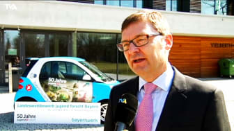 TVA - Nachrichtenbeitrag zu Jugend forscht in Regensburg - Ankündigung