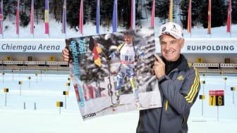 Olympiasieger Fritz Fischer in der Chiemgau Arena © Fritz Fischer Biathloncamp