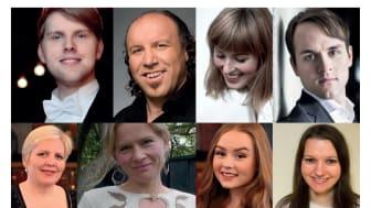 Solistane i Kimen: Eivind Kandal, Magne Fremmerlid, Karen Rosenberg Olsen, Thomas Røshol, Ragnhild Engeset, Ingeborg Fangel Mo, Louise Engeseth og Karina Holkestad