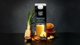 Nu finns äntligen God Morgon® Tropical som 1 liters förpackning!