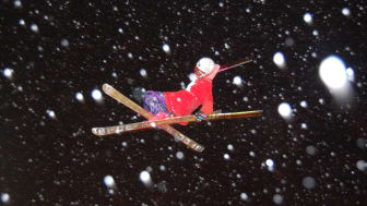 Snowstorm 2011 i Skellefteå - närmare himlen kan du inte komma