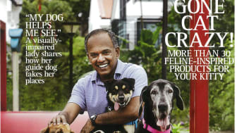 Evorich Flooring Featured In Pets Magazine Apr/May 2013 Issue