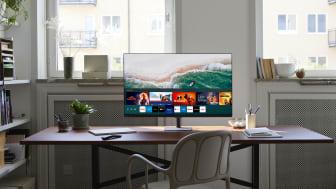 Samsung julkaisi uudet Smart Monitor -näytöt, jotka soveltuvat monipuoliseen käyttöön