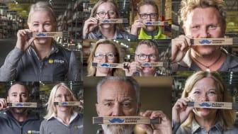 Beijer Byggmaterial har tillsammans med sina kunder bidragit med 350.000 kronor till forskningen om prostatacancer vid 2019 års kampanj.
