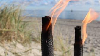 Lichtermeer - Fackelwanderungen auf der Ostseeinsel Fehmarn, Foto: Tourismus-Service Fehmarn