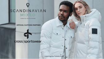 Cross Sportswear klär Scandinavian Mixed miljömedvetet vitt.