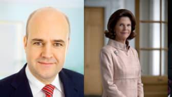 Prinsen av Wales, hertiginnan av Cornwall, drottning Silvia och statsminister Fredrik Reinfeldt besöker Fryshuset