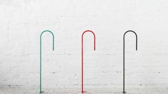 Hook cykelpollare, Note Design Studio.