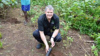 Thomas arbetar på besiktningsföretaget med hjärtat i miljöfrågan