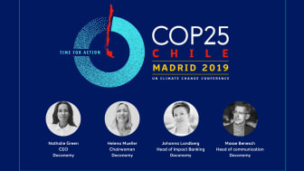 The Doconomy team at COP25 in Madrid