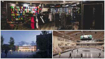 Nu står det klart att Klubbhuset öppnar butik i Thoren Arena när den invigs i december.