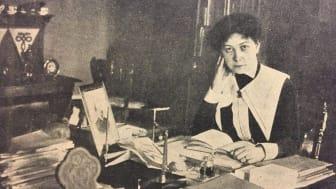 Höstens första föreläsning handlar om bibliotekspionjären, folkbildaren och kvinnorättskämpen Valfrid Palmgren (1877–1967) .