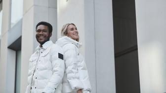 Cross Sportswear släpper ofärgad dunjacka som en del av 2020 års vinterkollektion.