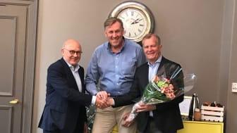 Göte Dahlin, Torbjörn Blomqvist och Claes Livijn