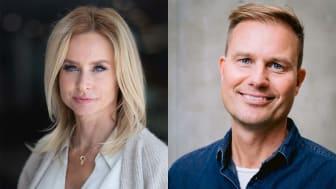 Cecilia Bödker Pedersen och Martin Hultman är Årets alumner vid Linköpings universitet.