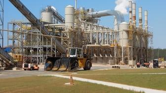 Enviva wood pellet mill in Sampson County, North Carolina, USA. Photo: Florian Steierer (UN-ECE/FAO)