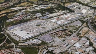 SEAT fabrikken i Martorell