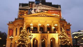 Frankfurt/Main: Weihnachtsbeleuchtung an der Alten Oper © DZT e.V. F: Eichberger, Eric