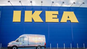 Elektrisk IKEA varebil