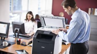 Brother skaper sikre printløsninger sammen med danske Ubiquitech