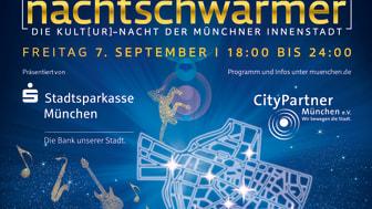 Die Stadtsparkasse München ist auch dieses Jahr wieder mit dabei als Presenting-Partner der Kult[ur]-Nacht der Münchner Innenstadt am Freitag, 7. September 2018.