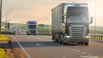 Lastbilsförare är det mest utsatta yrket.
