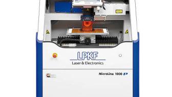 LPKF MicroLine 1000 P - Laserskärning av flexibla mönsterkort och Coverlayer