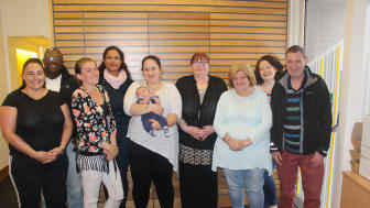 ng homes tenants who took part in the first Getting Ahead programme meet regularly to catch up on their progress.