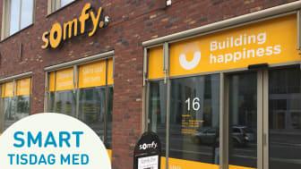 Smart Tisdag med Somfy i Somfy Showroom på Arenagatan 16 i Hyllie