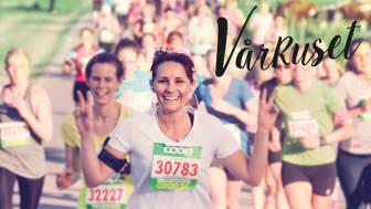 Vårruset startade 1989. Nu är det världens största löparserie för tjejer och lockar över 100 000 deltagare varje år.