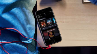 BookBeat App im Dark Mode