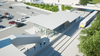 Kidderminster station is to undergo a dramatic redevelopment, including construction of a completely new, glass fronted station building