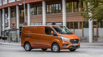 Ford Transit Custom ladbar hybrid 2019