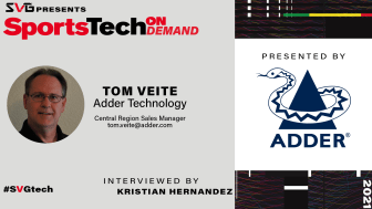 Adder's Tom Veite meets with Kristian Hernandez of SVG