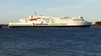 Scandlines zweite neue Fähre verlässt dänische Werft