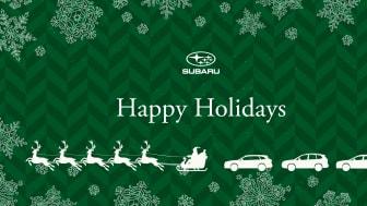 God Jul & Gott Nytt År önskar Subaru Nordic