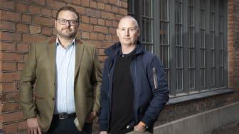 Irenos grundare, Peter Östling och Jesper Zandin